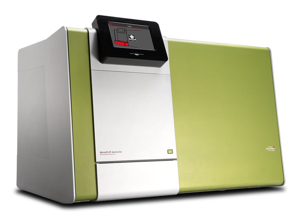 Monolith NT.automated for high throughput screening projects.