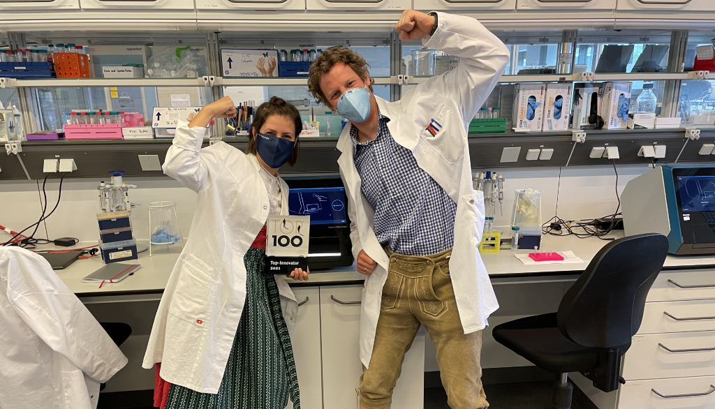 scientists holding top 100